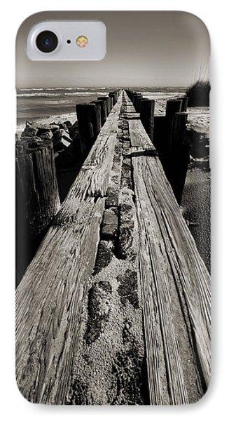 Vanishing Point Folly Beach IPhone Case by Dustin K Ryan