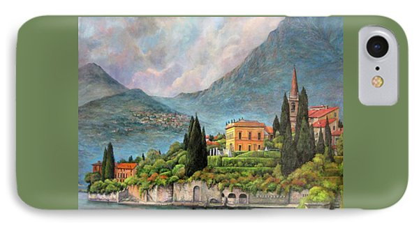 Varenna Italy IPhone Case by Donna Tucker