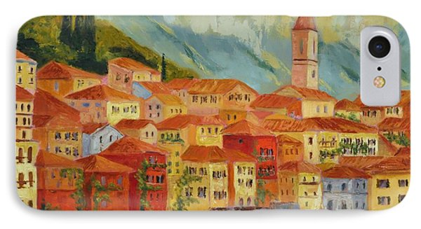 Varenna  Italy Phone Case by Ginger Concepcion