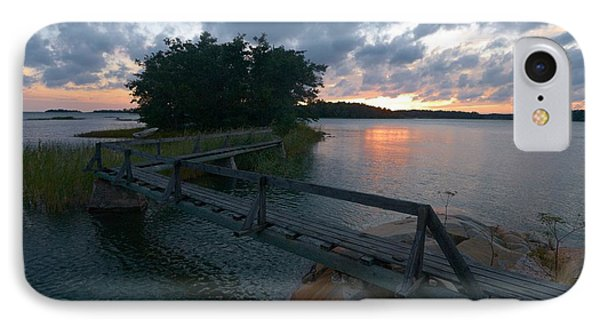 IPhone Case featuring the photograph Variations Of Sunsets At Gulf Of Bothnia 6 by Jouko Lehto