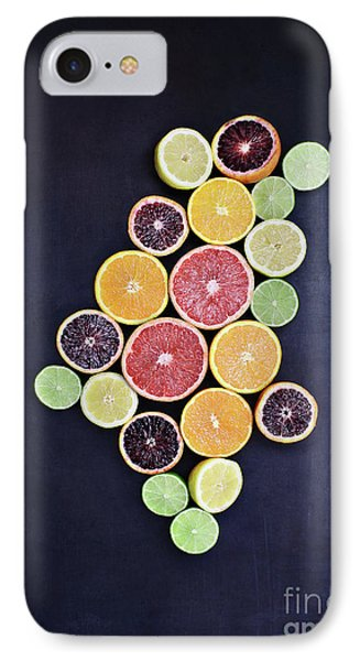 IPhone Case featuring the photograph Variety Of Citrus Fruits by Stephanie Frey