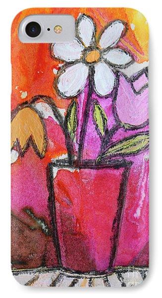 Vase IPhone Case by Jutta Maria Pusl