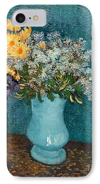 Vase Of Flowers Phone Case by Vincent Van Gogh