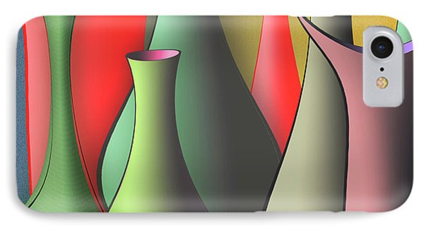 Vases Still Life Phone Case by Ben and Raisa Gertsberg