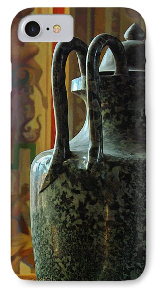 IPhone Case featuring the photograph Vatican Ancient Jar by Michael Flood