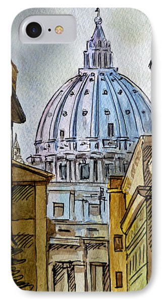 Vatican City IPhone Case by Irina Sztukowski