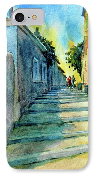 Vaugines Steps No 2					 IPhone Case by Virgil Carter