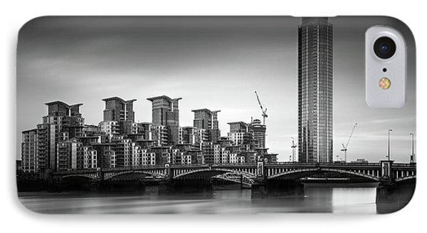 Vauxhall Bridge, London IPhone Case by Ivo Kerssemakers