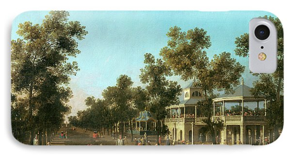 Vauxhall Gardens The Grand Walk IPhone Case