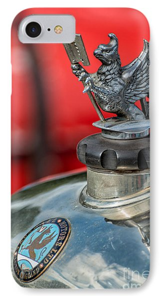 Vauxhall Griffin Motif IPhone Case by Adrian Evans