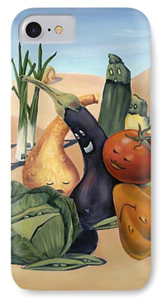 Veg Out Phone Case by Sandi Snead