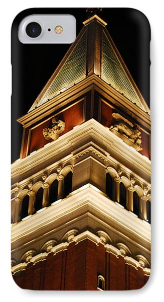 IPhone Case featuring the photograph Vegas At Nite by Maggy Marsh