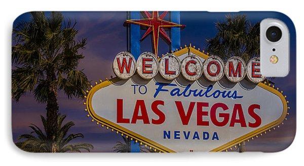 Vegas Baby II IPhone Case by Susan Candelario