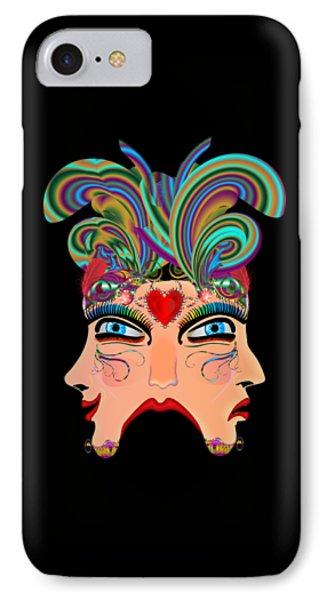 Vegas Casino Mask IPhone Case