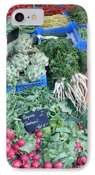 Vegetables At German Market Phone Case by Carol Groenen