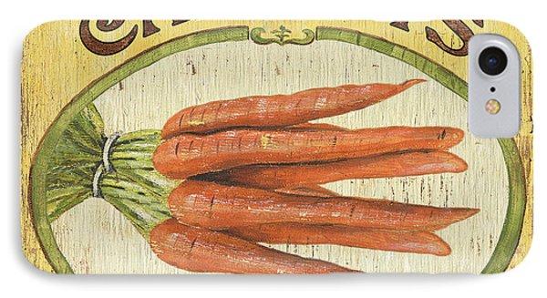 Veggie Seed Pack 4 IPhone Case by Debbie DeWitt