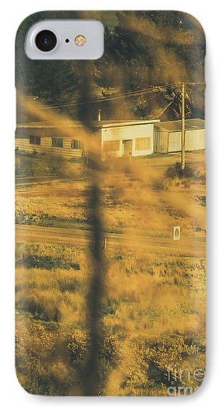 Rolling Stone Magazine iPhone 7 Case - Vegitation View Of Rural Farm Homestead  by Jorgo Photography - Wall Art Gallery