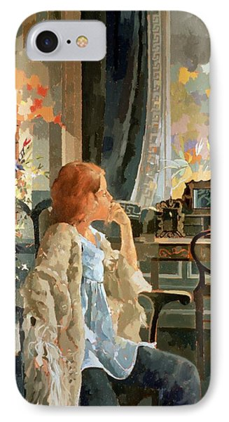 Veil Of Elegance IPhone Case by Peter Miller