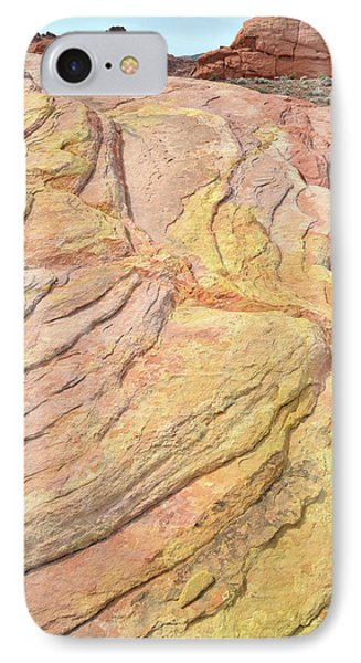 IPhone Case featuring the photograph Veins Of Gold In Valley Of Fire by Ray Mathis