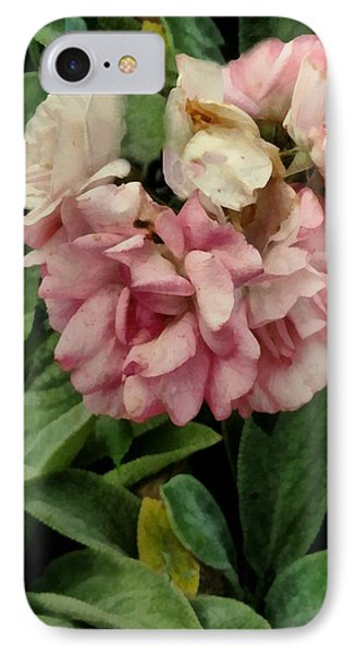 Velvet In Pink And Green Phone Case by RC deWinter