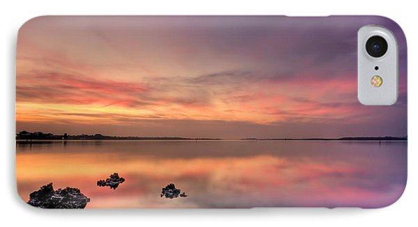 Dawn iPhone 7 Case - Velvet Morning by Evelina Kremsdorf