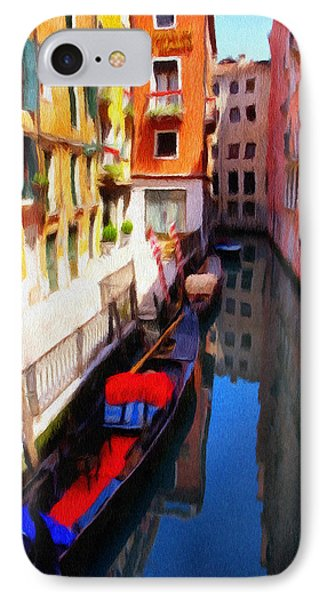 Venetian Canal Phone Case by Jeffrey Kolker