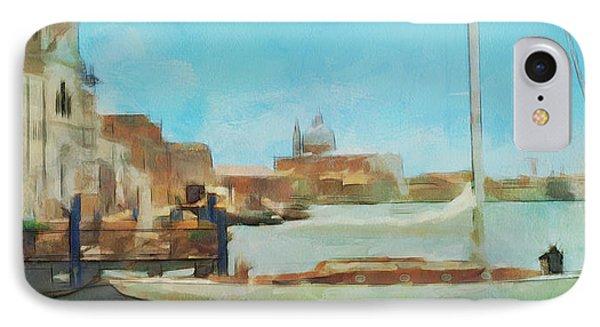 Venetian Canal IPhone Case by Sergey Lukashin