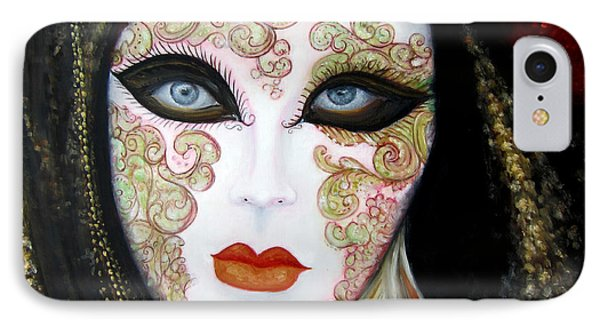 Venetian Mask In Black 2015 IPhone Case