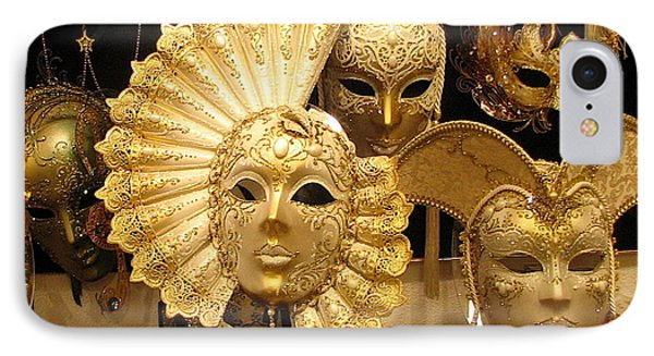 Venetian Masks IPhone Case