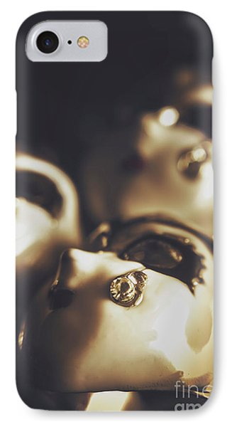 Venetian Masquerade Mask Rings IPhone Case