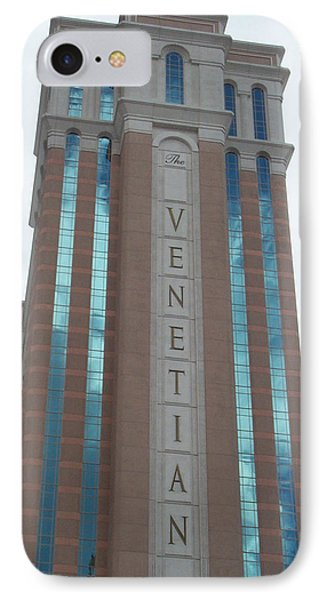 Venetian Tower Las Vegas Phone Case by Alan Espasandin
