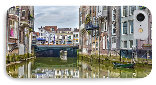 IPhone Case featuring the photograph Venetian Vibe In Dordrecht by Frans Blok