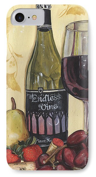 Veneto Pinot Noir IPhone Case by Debbie DeWitt