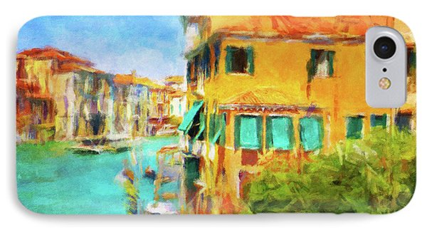 IPhone Case featuring the photograph Venezia Afternoon by Connie Handscomb