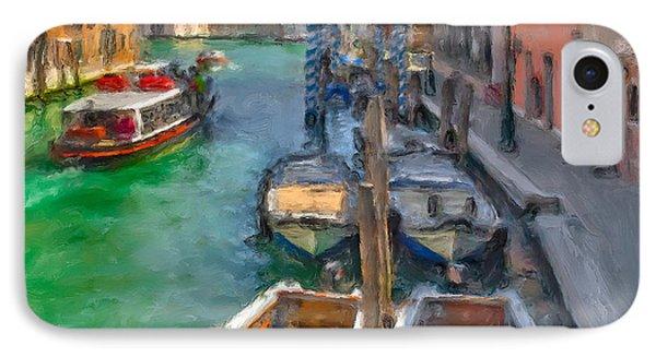 Venezia. Cannaregio IPhone Case by Juan Carlos Ferro Duque