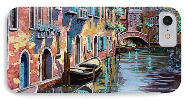 Venezia In Rosa IPhone Case by Guido Borelli