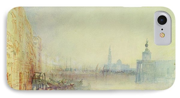 Venice - The Mouth Of The Grand Canal Phone Case by Joseph Mallord William Turner
