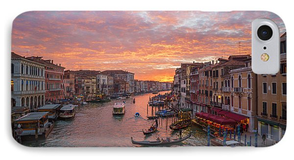 Venice At Sunset - Italy IPhone Case
