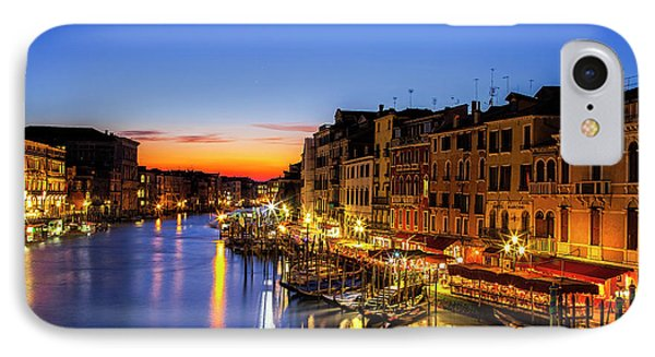 IPhone Case featuring the photograph Venice At Twilight by Andrew Soundarajan