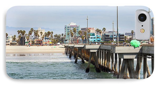 Venice Beach From The Pier IPhone 7 Case by Ana V Ramirez