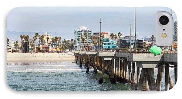 Venice Beach From The Pier IPhone Case by Ana V Ramirez