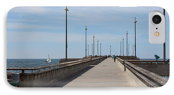 Venice Beach Pier IPhone 7 Case by Ana V Ramirez