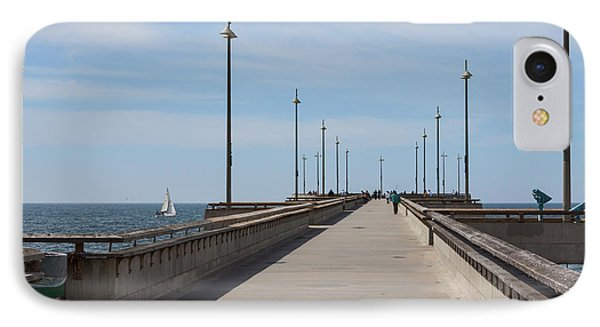 Venice Beach Pier IPhone Case by Ana V Ramirez