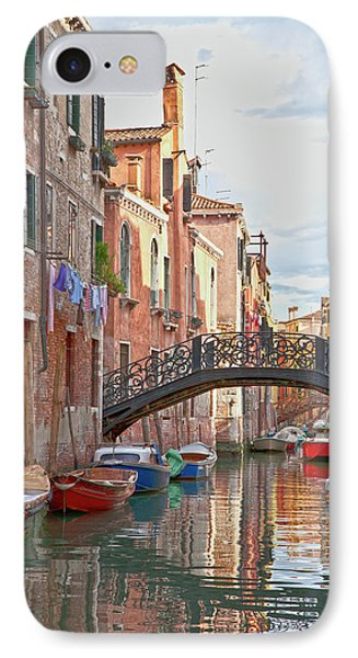 Venice Bridge Crossing 5 Phone Case by Heiko Koehrer-Wagner