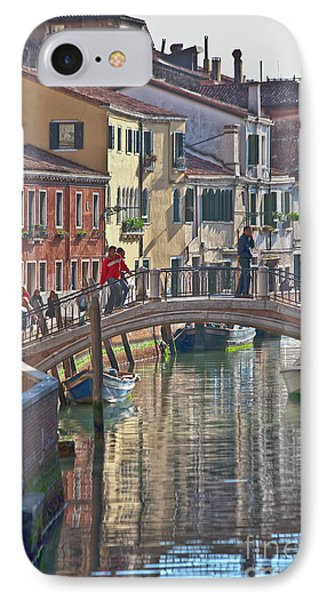 Venice Bridge Crossing 6 Phone Case by Heiko Koehrer-Wagner