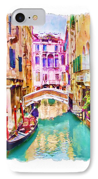 Venice Canal 2 IPhone Case