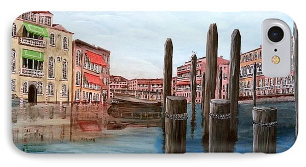 Venice Canal Phone Case by Irving Starr