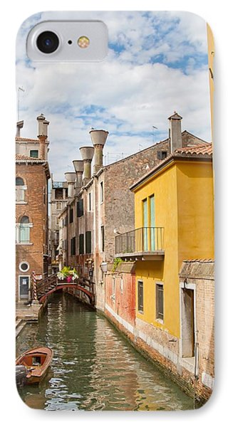 IPhone Case featuring the photograph Venice Canal by Sharon Jones