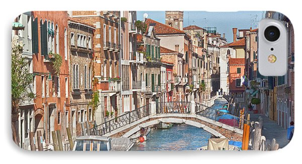 Venice Canaletto Bridging Phone Case by Heiko Koehrer-Wagner