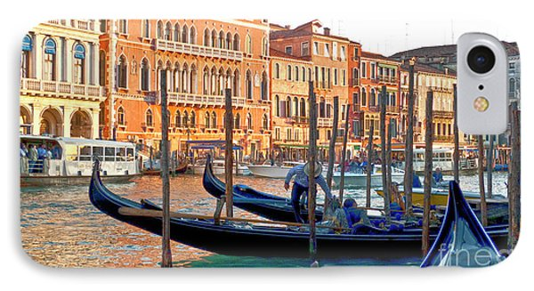 Venice Canalozzo Illuminated IPhone Case by Heiko Koehrer-Wagner